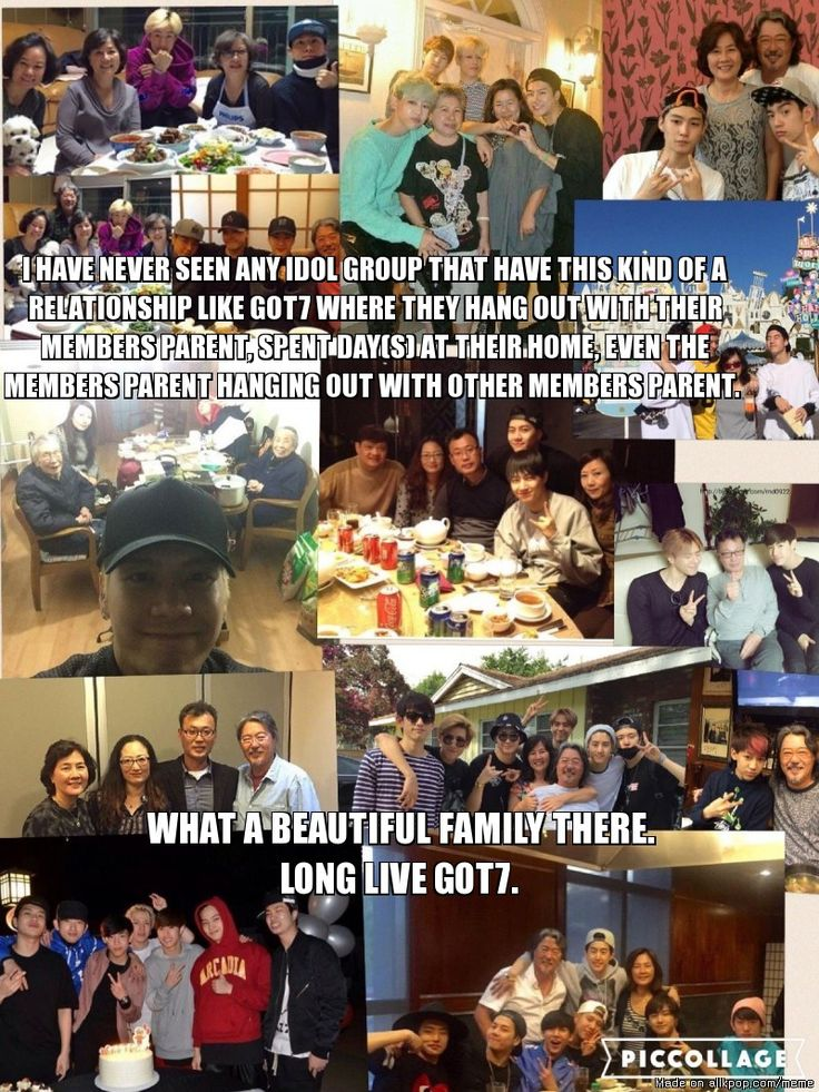 GOT7 RELATIONSHIP WITH ANOTHER IS ONE OF THE BEST THING EVER