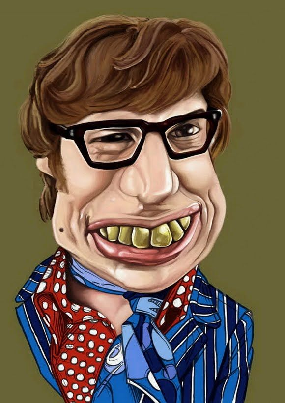 A collection of funny caricatures of famous people- 34 Images ...