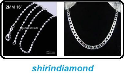 Get stylish with sterling silver necklace for men.