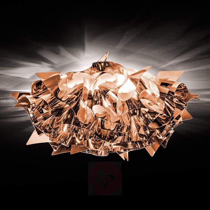 Designer-taklampe Veli i kobber, 53 cm-8503229-01
