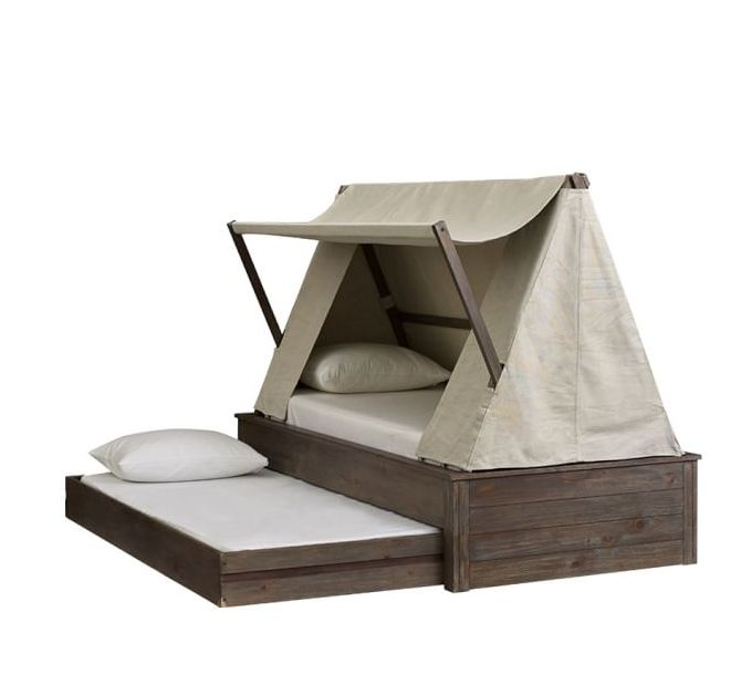 tent bed..love this for my boy!                                                                                                                                                      More