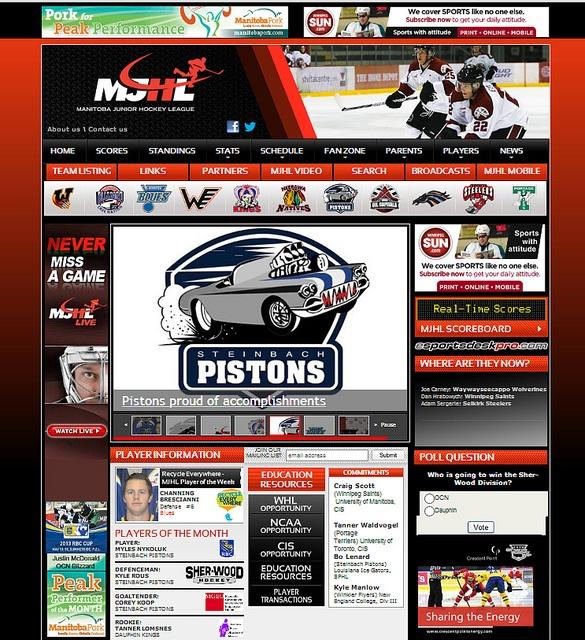 MJHL Hockey by SunrizeGroup,  http://sunrize.bix