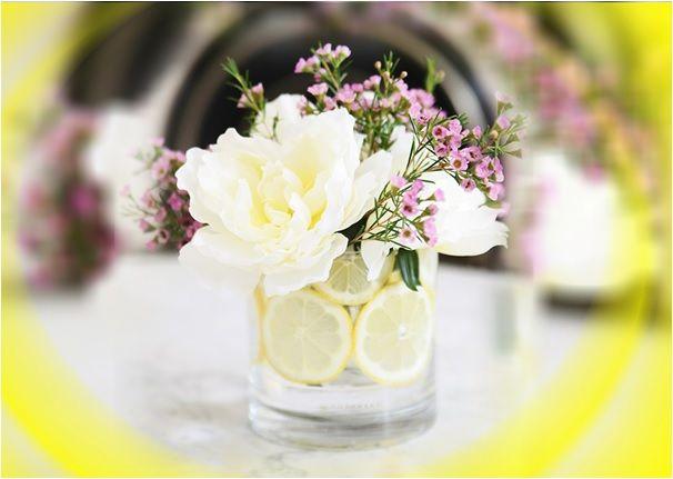 Limon Kokulu El Yapımı Vazolar