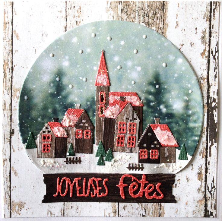 Carte de Noël, dies de Tim Holt - nov 2017