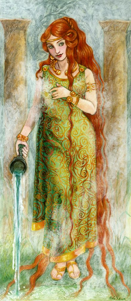 105 best images about Goddess Oracle Cards Thalia Took on ...