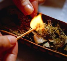 Make Your Own Incense for Imbolc: Bring the scents of the season into your home with a loose incense blend.: