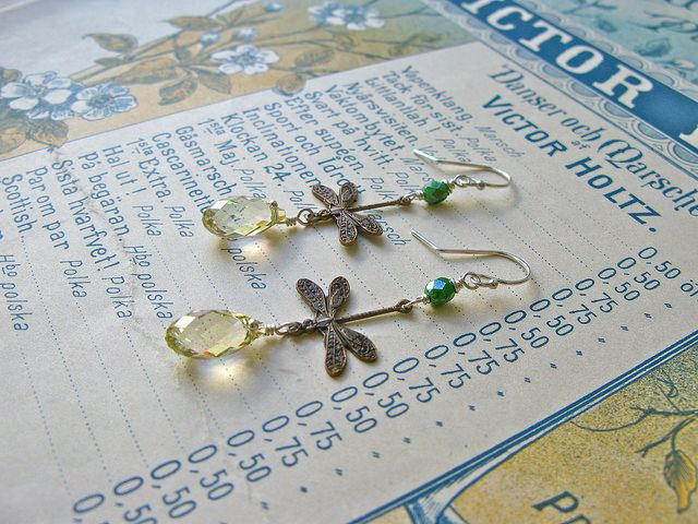 Fine van Brooklin, Garden earrings http://finevanbrooklin.com/