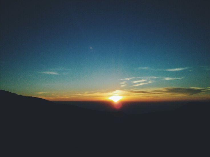 Sunrise! @ Gardu Pandang, Dieng