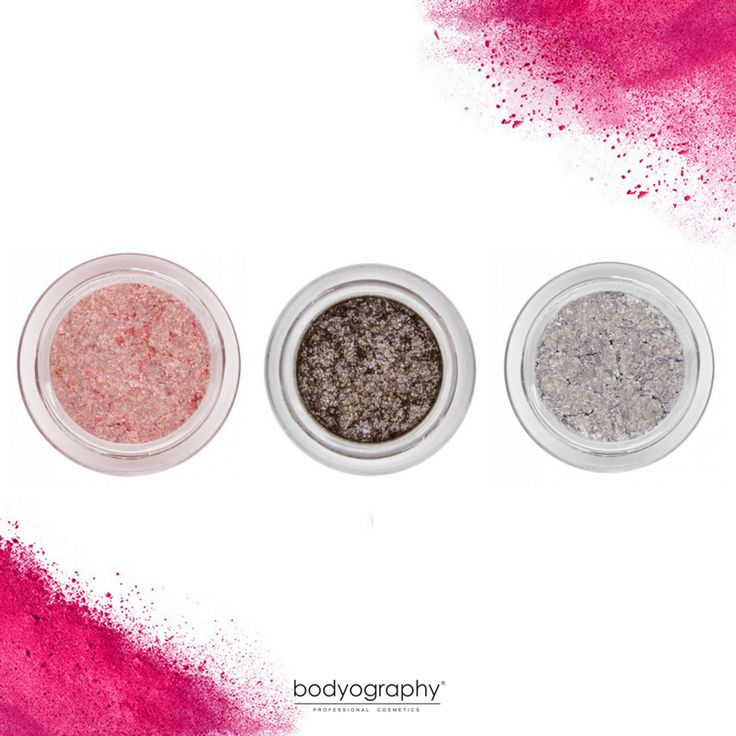 Quite the trio of glitter pigments to up your makeup game. Shop now: