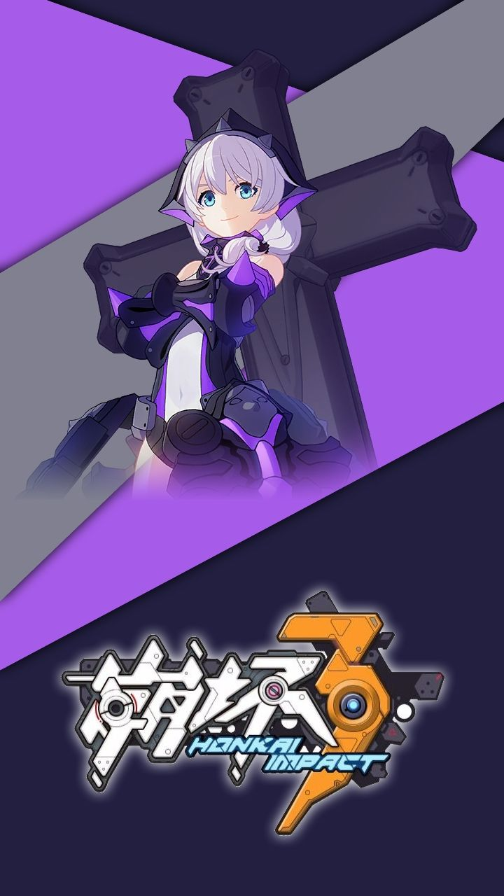 Honkai Impact 3rd Theresa Violet Executor Twilight Knight 4k Wallpaper Engine Anime Anime Fantasy Character Design Live Wallpapers