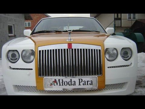 Mloda Para Replica of Rolls Royce Phantom on BMW 750i V12 E32