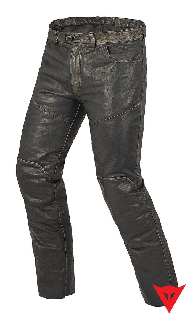 Dainese Leather Pants Jeans Pelle Vintage - front
