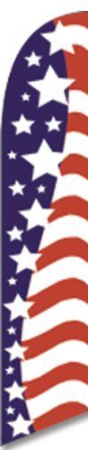 """12ft x 2.5ft American Glory Feather Banner Flag - FLAG ONLY - LIMITED TIME OFFER by FFN. $16.49. When you purchase this item, you will get 1 FULL SLEEVE flag.    To purchase the pole set, please search """"Feather Flag Nation 3pc Pole set w/ Hardware"""" in the amazon search box.  If you would like the half sleeve version, please send us a message requesting one.  If we do have it available in half sleeve, we will send you that.   We do recommend that you purchase a spinnerfly.  ..."""