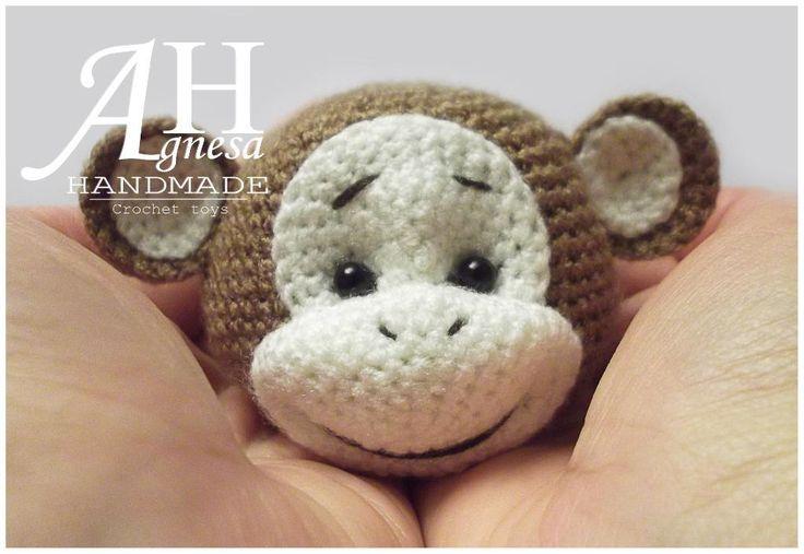 (4) Name: 'Crocheting : Crochet Monkey