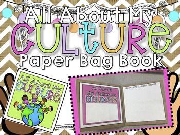 All About My Culture Paper Bag Book – Teachers Pay Teachers