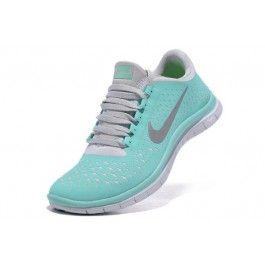 Nike Free 3.0 V4 Damesko Grønn Grå | Nike sko billig | Nike sko tilbud | kjøp Nike sko på nett | Ovostore.com