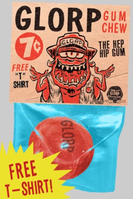 Man Revives Glorp Gum, A Gimmicky Gum Brand with a Nutty History