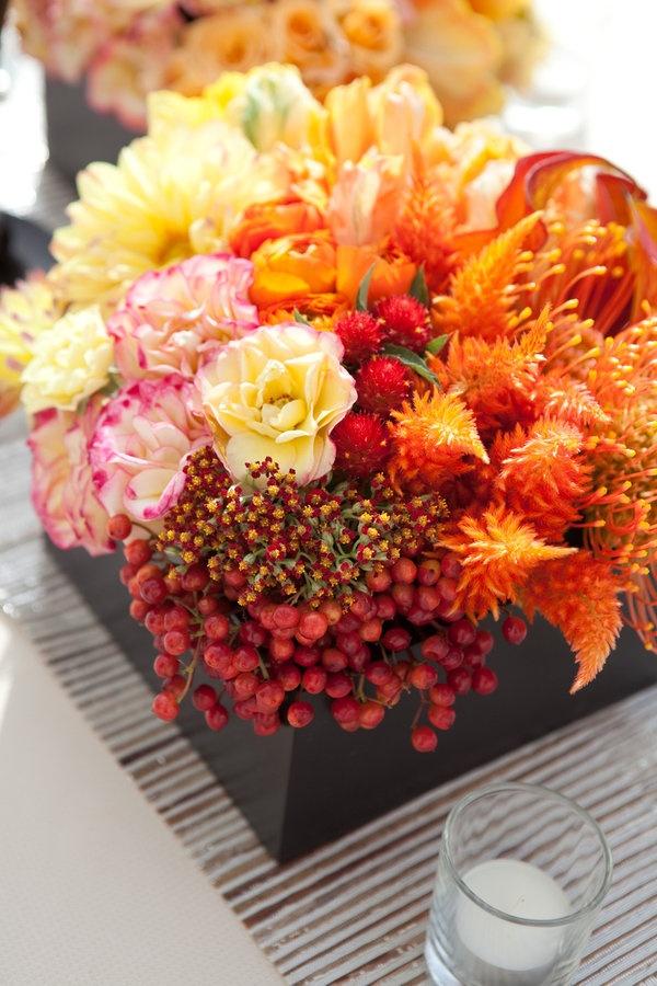 Fall Centerpiece: Idea, Wedding, Beautiful Centerpiece, Centerpiece Beautiful Flowers, Flower Arrangements, Floral Arrangement, Centerpieces