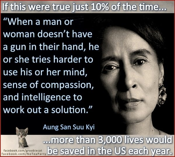 Aung San Suu KyiFood For Thought, Kyi Quotes