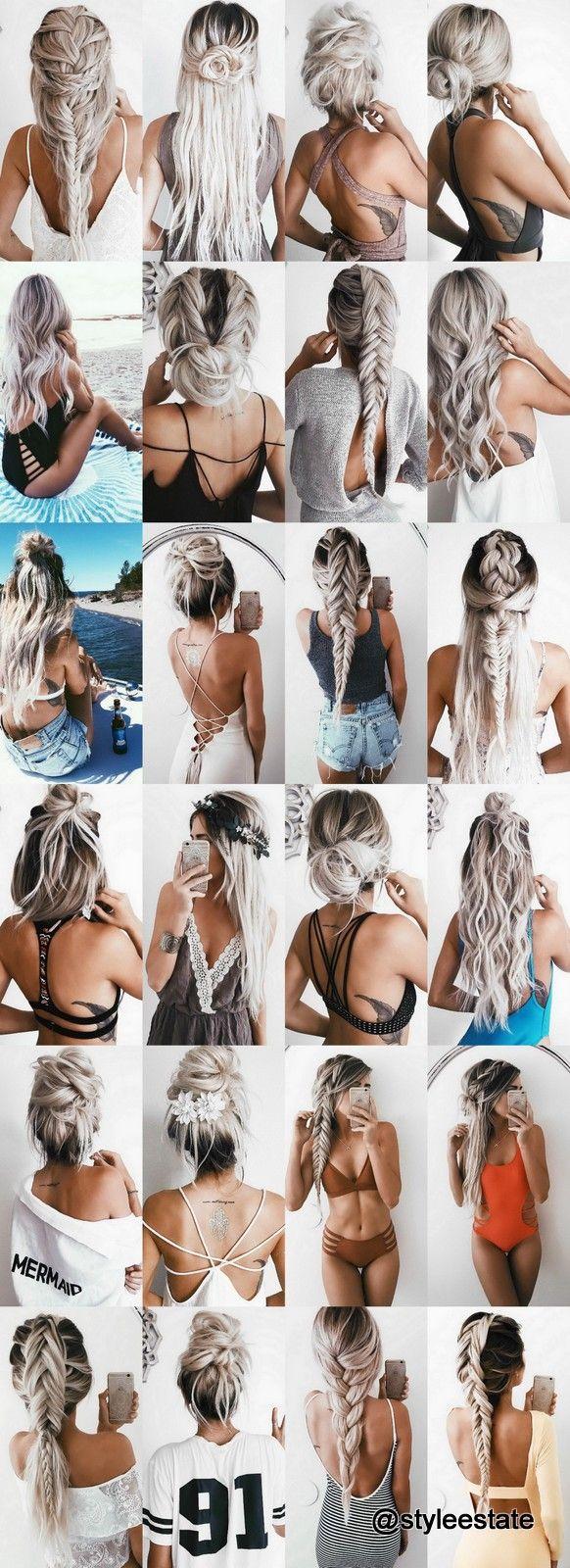 Blonde IG Model @emilyrosehannon's Top 24 Hairstyles 2016