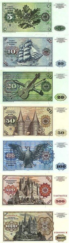 Die gute alte Deutsche Mark (DM) !!