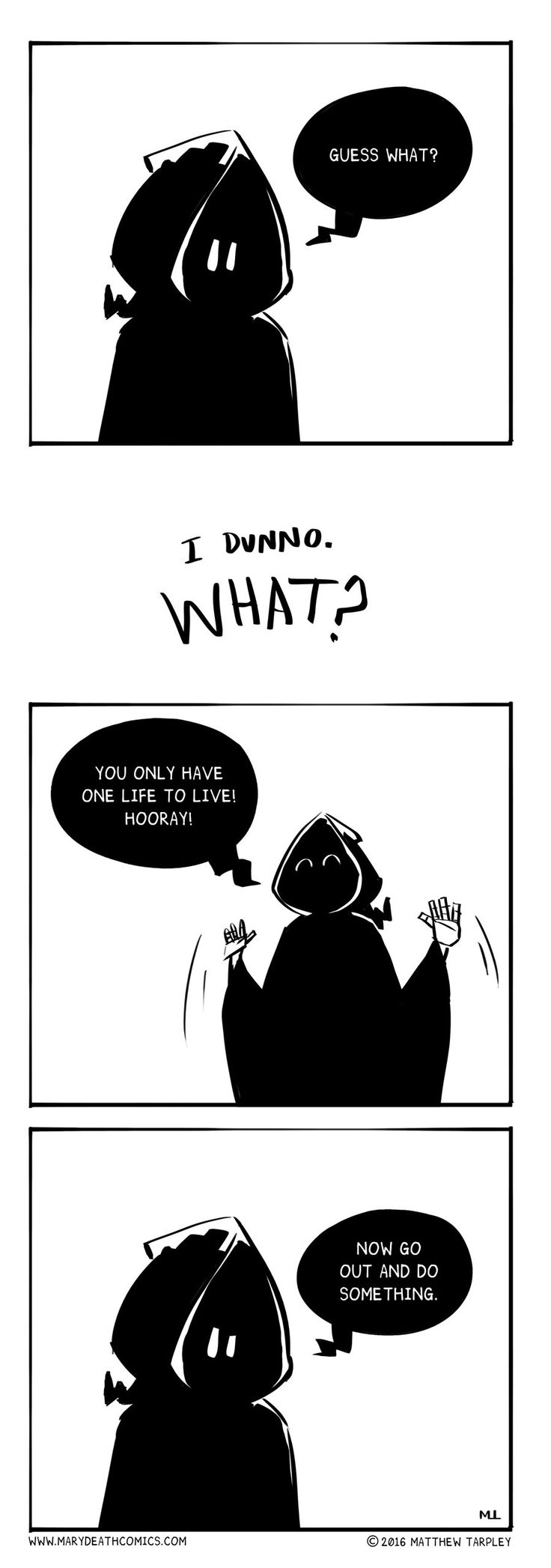 Mary Death :: Hey | Tapastic Comics - image 1