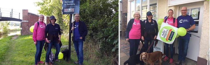 Dog Walking for Cancer Research UK
