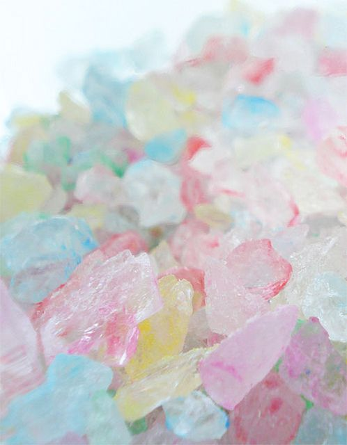 Pastel Rock Candy