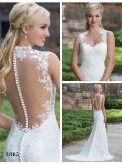Sincerity Wedding Dress - Style 3885