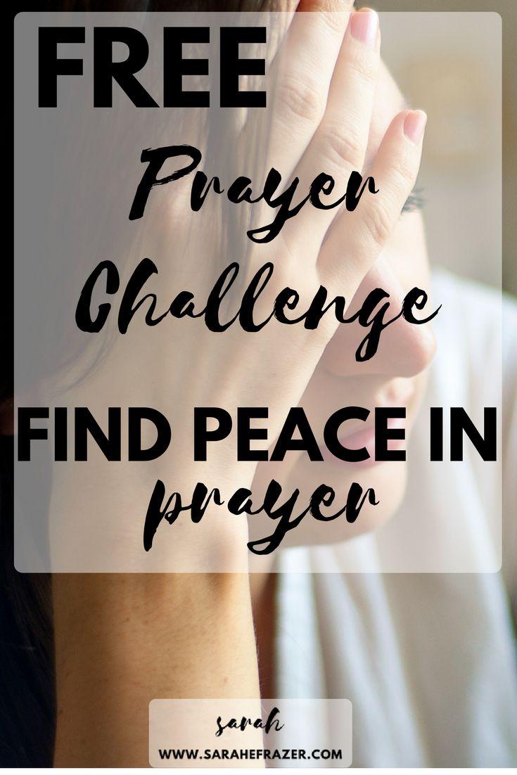 Free Prayer Challenge| Prayer Plan| Bible Reading |Free Devotional| Devotional for Women Struggling with Anxiety