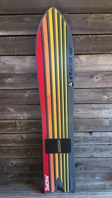 Vintage Burton Cruzer 165 Snowboard from VintageWinter