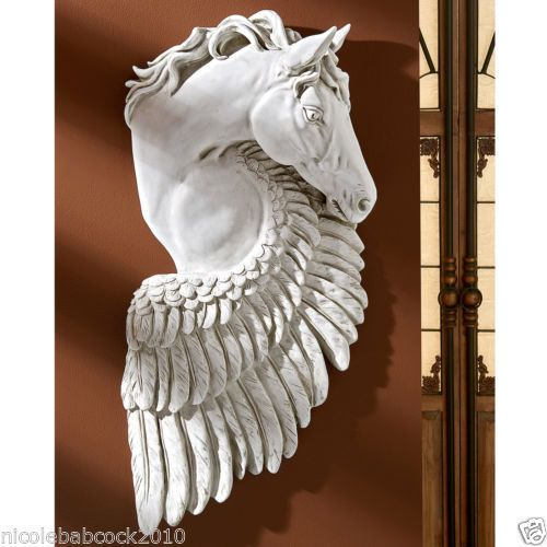 PEGASUS-HORSE-GREEK-MYTHOLOGY-Statue-Sculpture-Home-or-Gallery-Decor