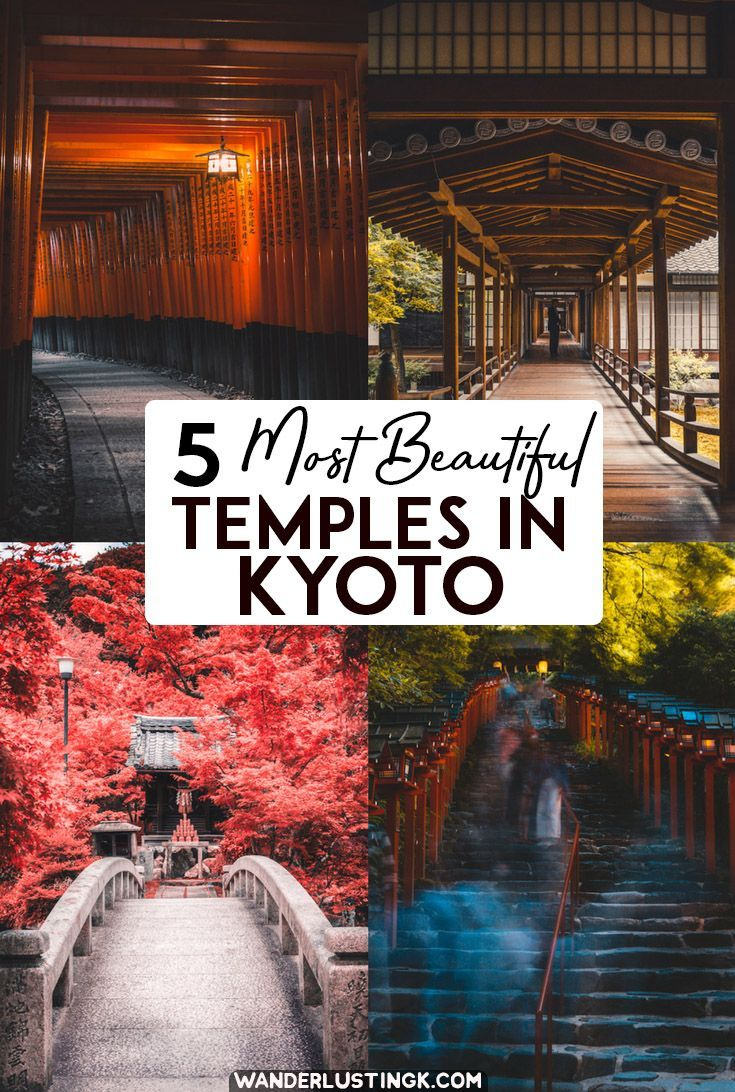 Visiting Kyoto? Here are some of the most beautiful shrines & temples there. There are many more.... #JapanTravel
