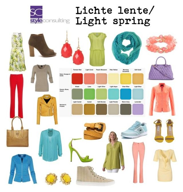 """Lichte lente/ Light spring color type."" By Margriet Roorda-Faber.                                                                                                                                                                                 More"