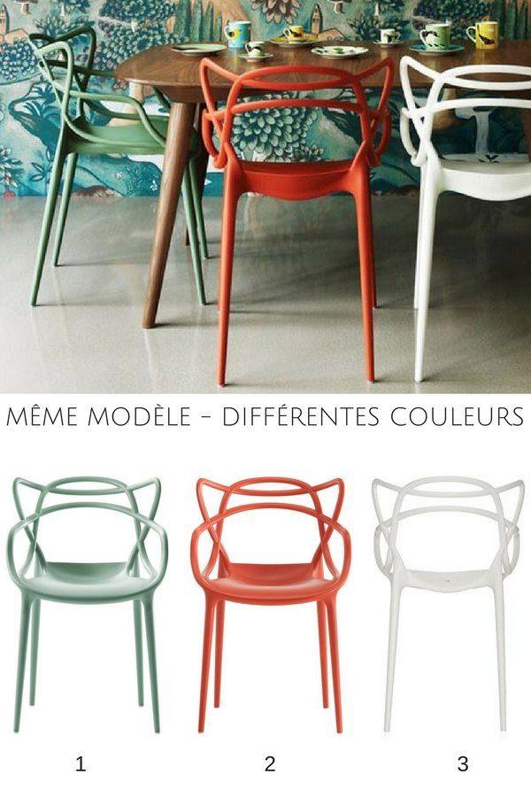 modle similaire et couleurs diffrentes une bonne ide pour dpareiller vos chaises et apporter une