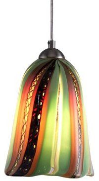 44 best glass pendant lighting images on pinterest pendant lamp oggetti 18 157 amore fiore green modern contemporary mini pendant light ogt 18 aloadofball Choice Image