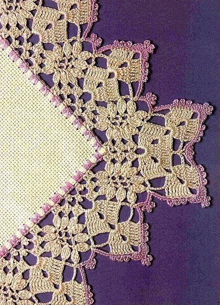 beautiful edges in crochet