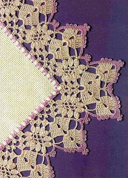 beautiful edges in crochet #afs