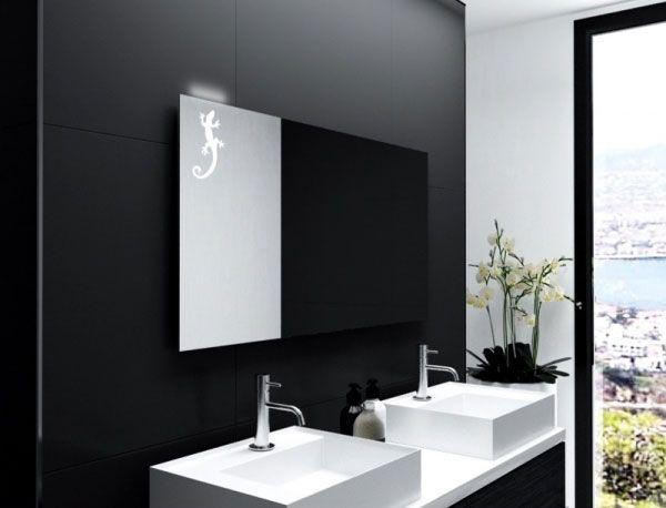 Badspiegel Ferrand Badspiegel Badezimmerspiegel Led Beleuchtung