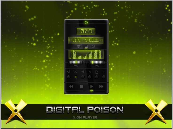 Digital Poison player by ~KaLeHagEnEeS on deviantART