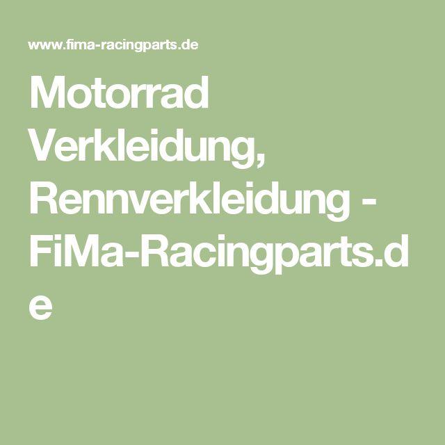 Motorrad Verkleidung, Rennverkleidung - FiMa-Racingparts.de