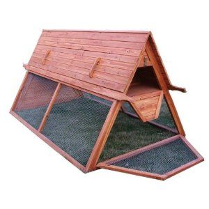 Movable Chicken Coops | Portable Chicken Coops for Traveling Chickens | Building Backyard ...