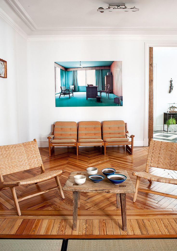 Modernist Home in Madrid | via AD Spain