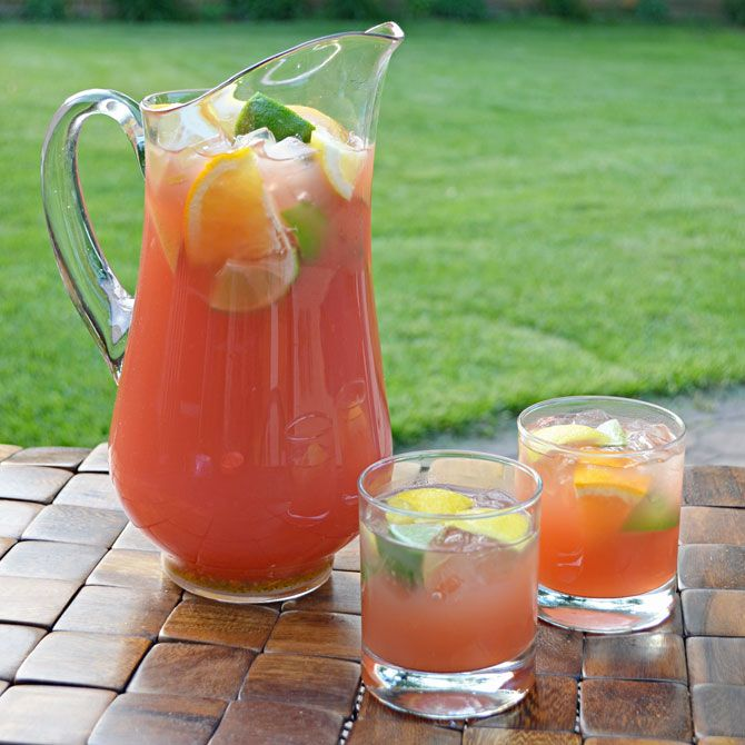 Capt Morgan Citrus Punch from Host the Toast Blog