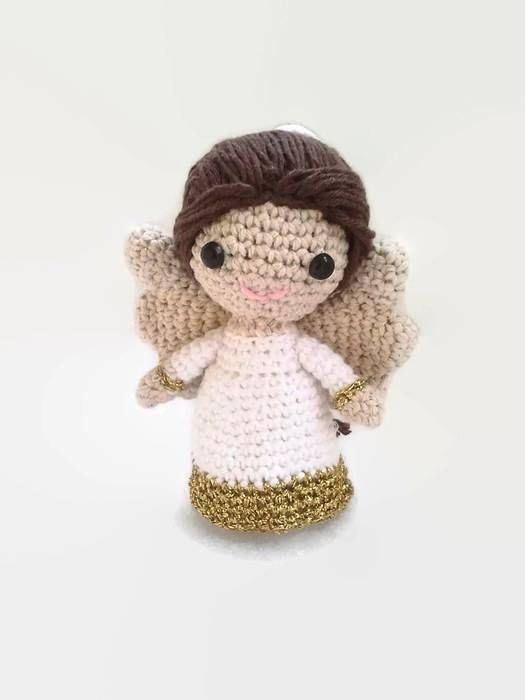 Little crochet angel, angel crochet, angel toy, wedding angel ...