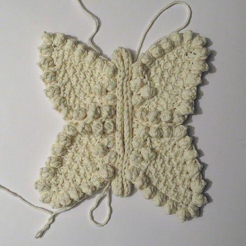 73. Freeform Unicolor Cardigan Butterfly Progress 2 by hykevandermeer, via Flickr
