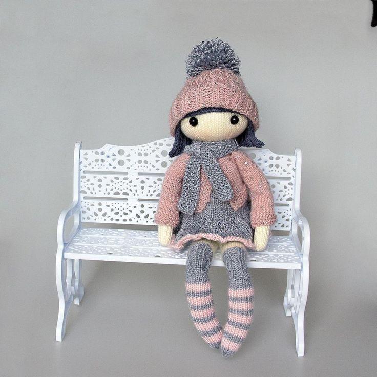 Masha Doll Knitting pattern by DenizasToysJoys