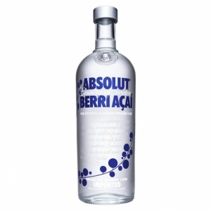 Absolut Berri Acai 40% #vodka #absolut