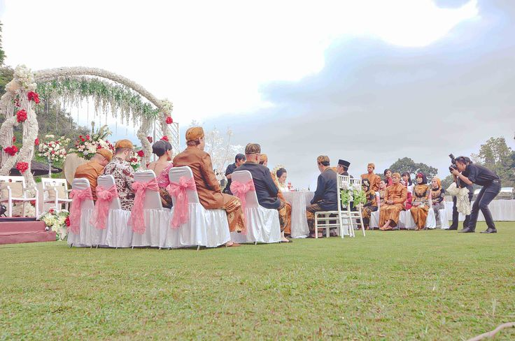 Feel like the time frozen awhile at the Outdoor Decoration for my Traditional wedding