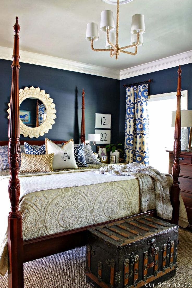 Navy Blue Bedroom Decor 17 Best Ideas About Blue Master Bedroom On Pinterest Blue